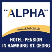 Teaser Logo Hotel Pension Alpha in Hamburg St. Georg
