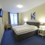 Doppelzimmer Hotel Pension Alpha in Hamburg St. Georg